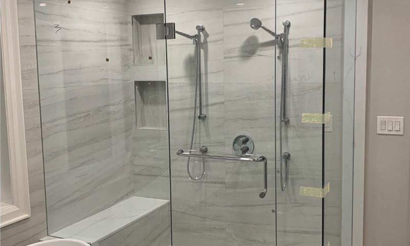 Toronto Glass Shower Enclosure Installation